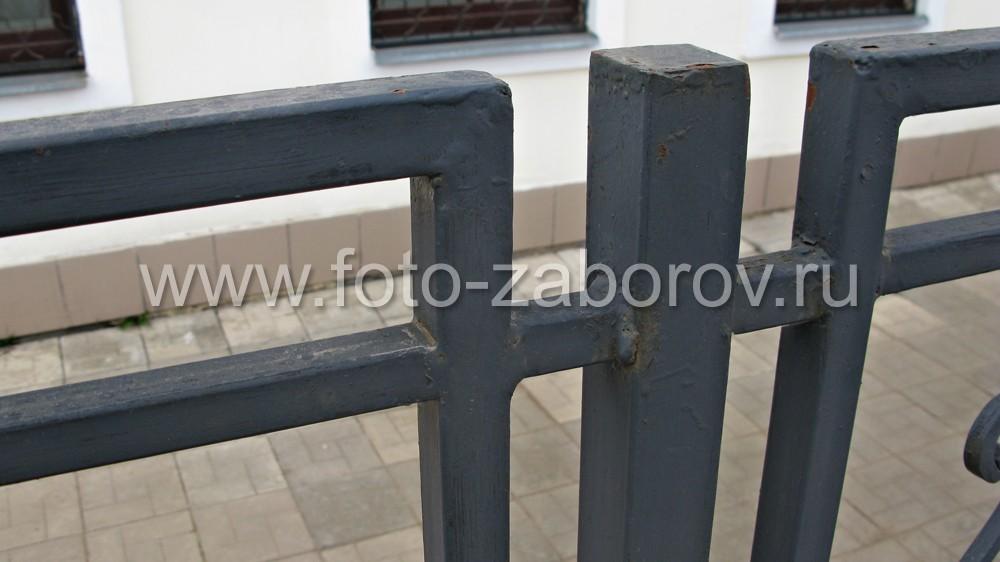 Фото Металлическая ограда отеля-ресторана