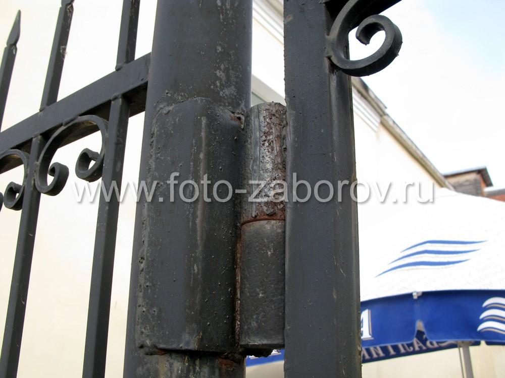Фото Кованые забор и ворота отеля-ресторана