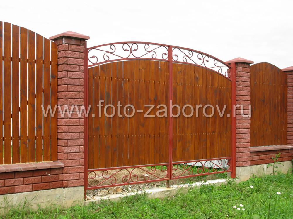 Кованые ворота со