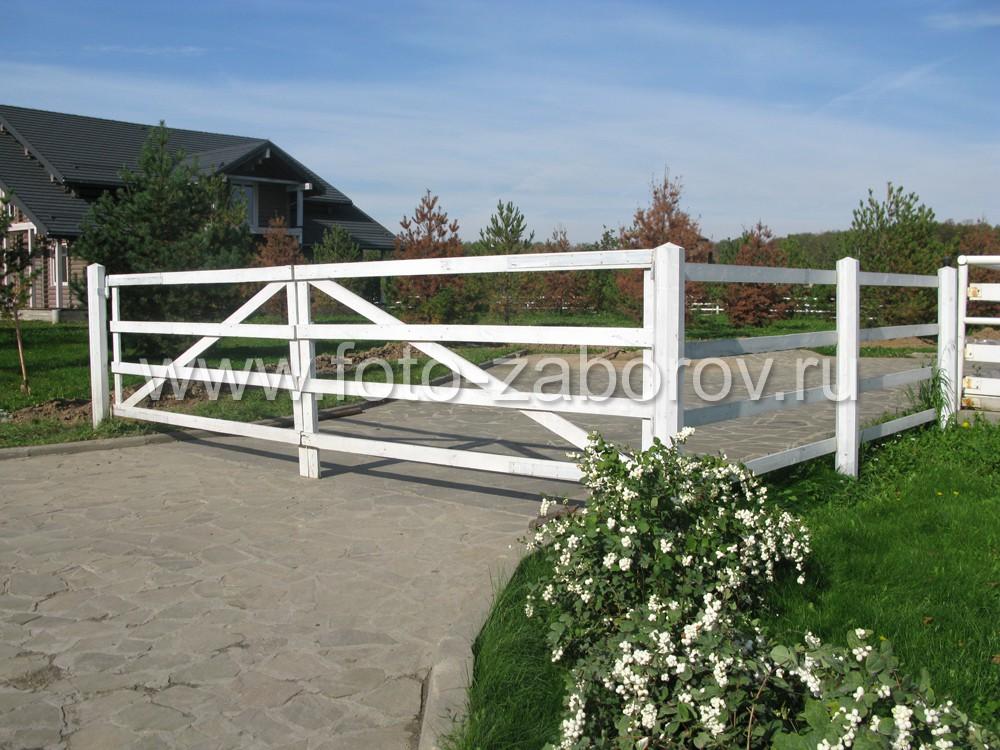 Фото красивых ворот в стиле