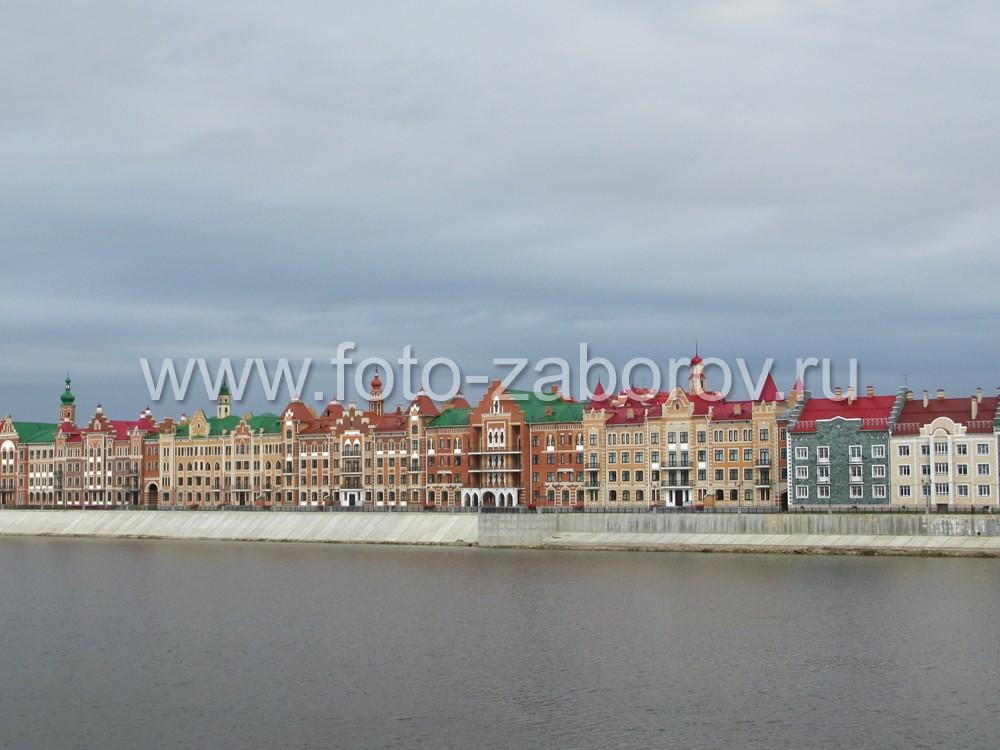 Набережная Брюгге в Йошкар-Оле: кусочек Амстердама на берегу Малой