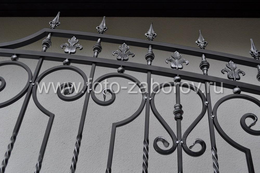 Фото Кованые ворота. Концентрировнное искусство в металле. Ассорти кованых элементов всех видов: