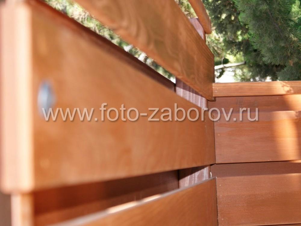 Доска планкен имеет скосы по краям 45 или 60 градусов и качественно обработанные обе