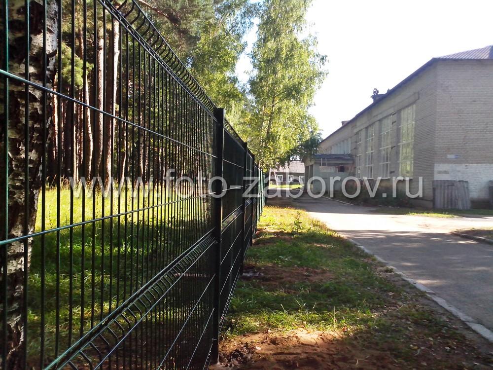 Фото Школьный забор FENSYS из сварной