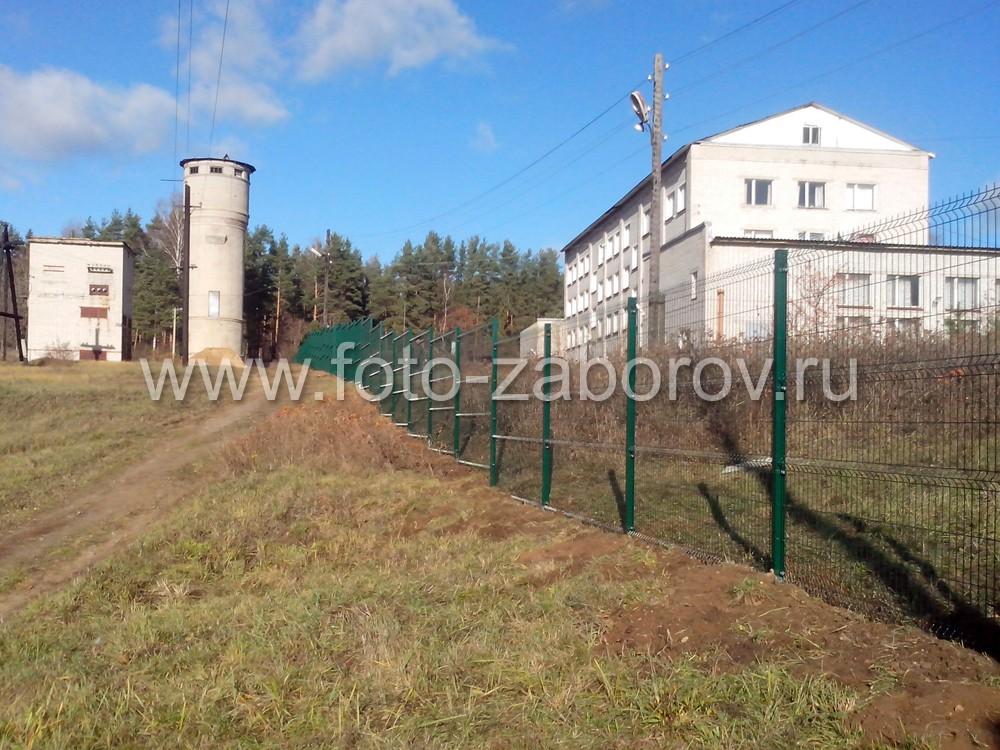 Шторные ворота для промышленных зданий в Лихославле