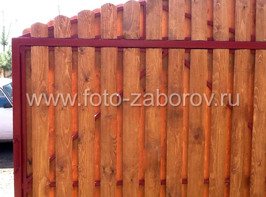 Двухслойное устройство обшивки откатных ворот обеспечивают сплошное