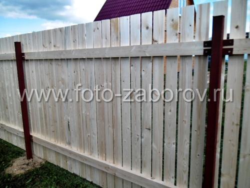 Как сделать металлический забор своими руками фото