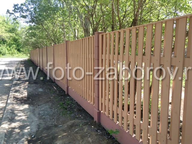 Фото Весенний заказ -  деревянный забор-