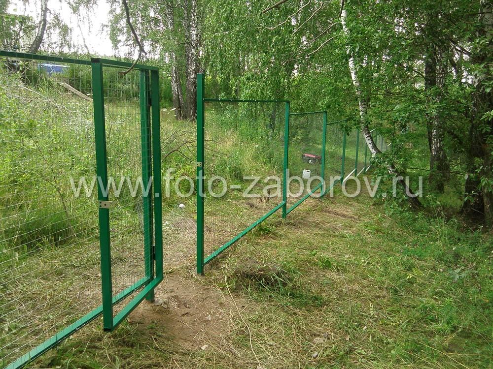 Калитка в заборе - выход в