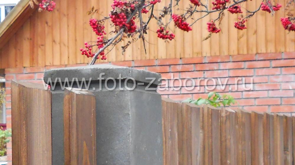 Фото Оригинальный забор для пенсионеров. Сочетание уюта (качественный деревянный штакетник) и