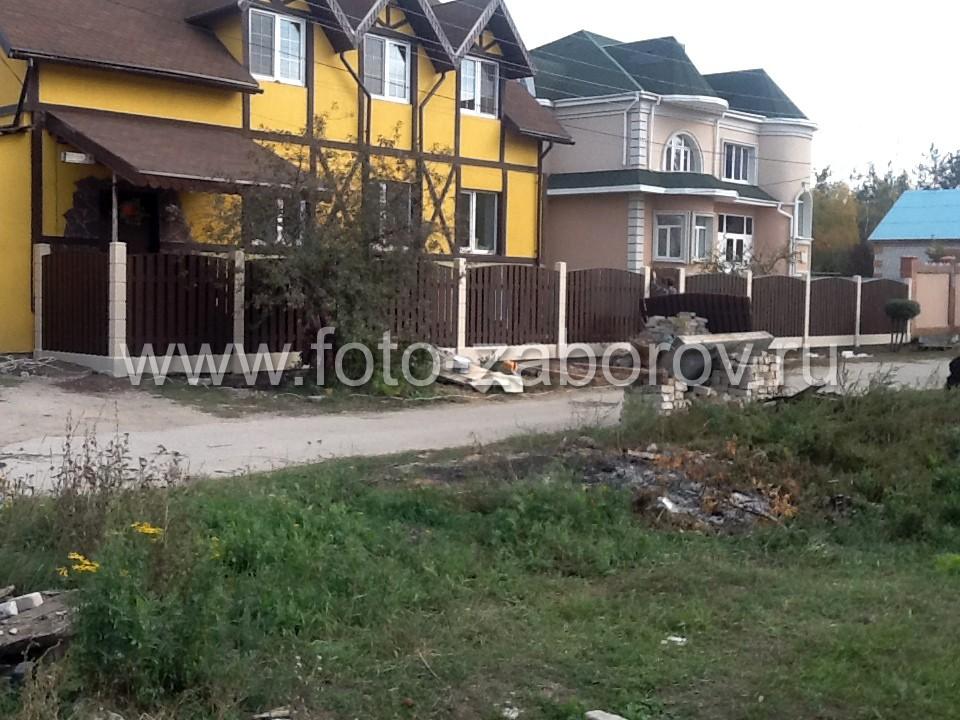 Фото Занимательная история строительства забора в посёлке