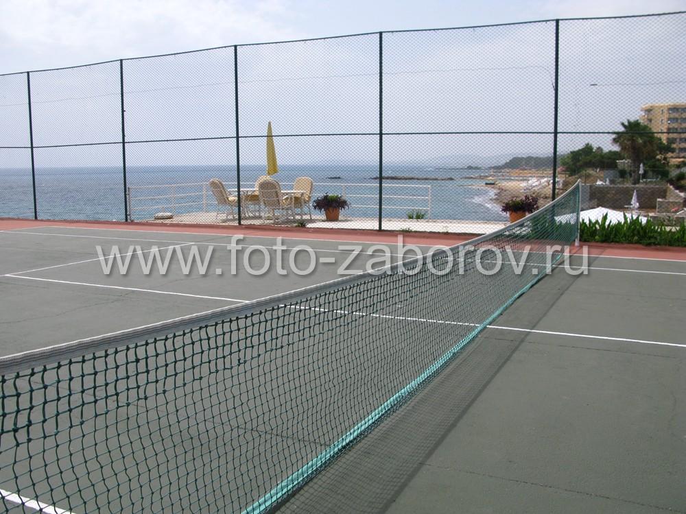 Сетка для большого тенниса - необходимый атрибут игры. Изготавливается из парашютной стропы, имеет