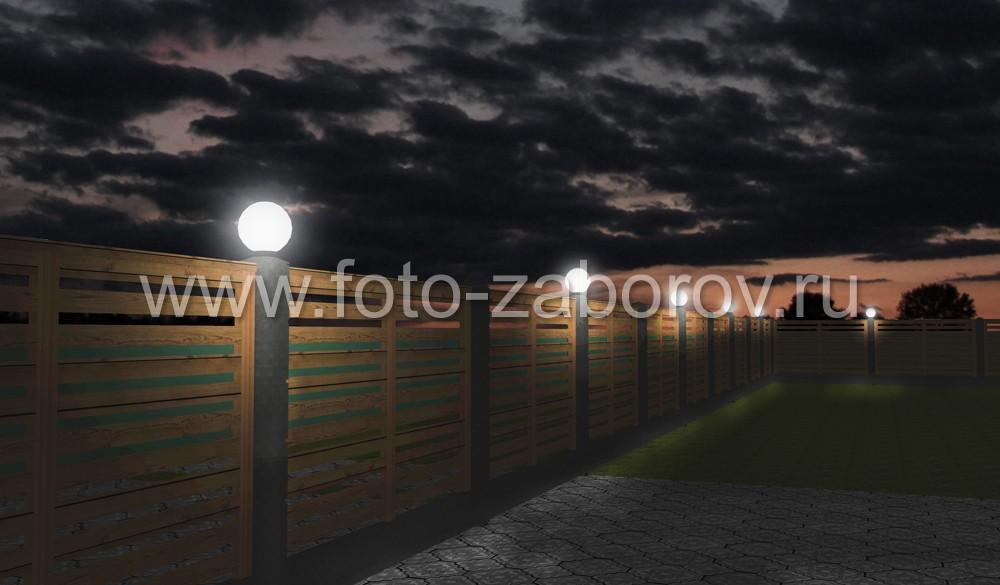 Использование менее яркого светильника для подсветки