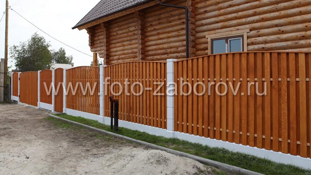 Фото Шахматный полукруг: идеальное сочетание стилистики загородного дома и