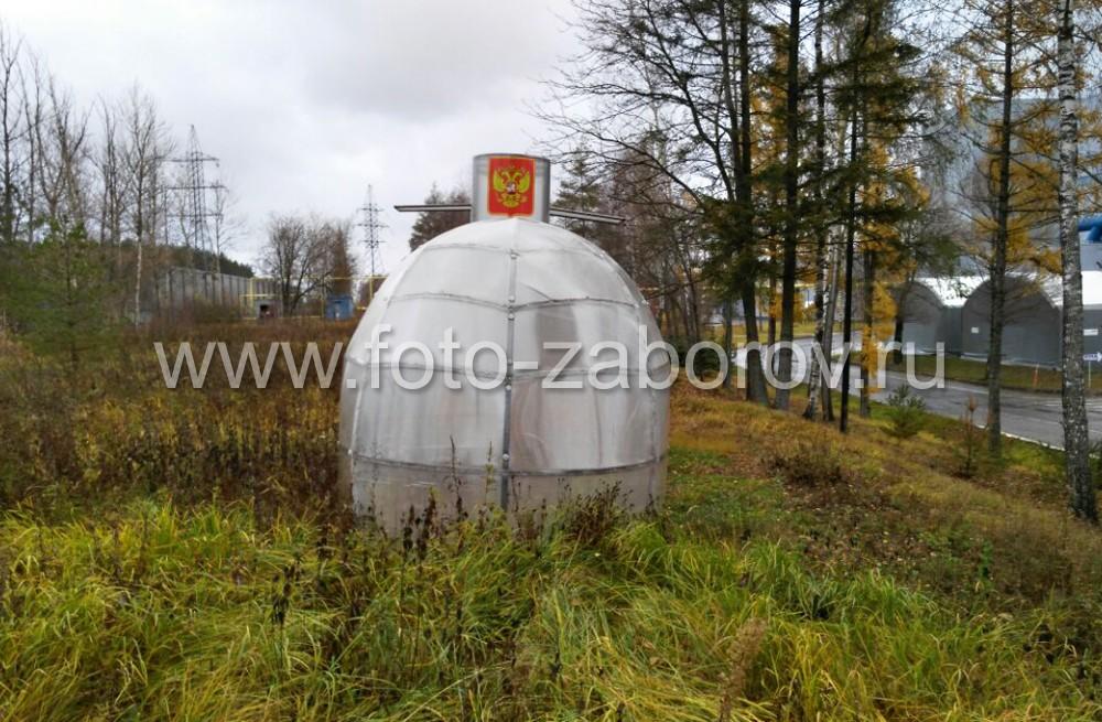 Фото Подлодка-теплица в Егорьевске. Всем огородникам: по местам стоять, к