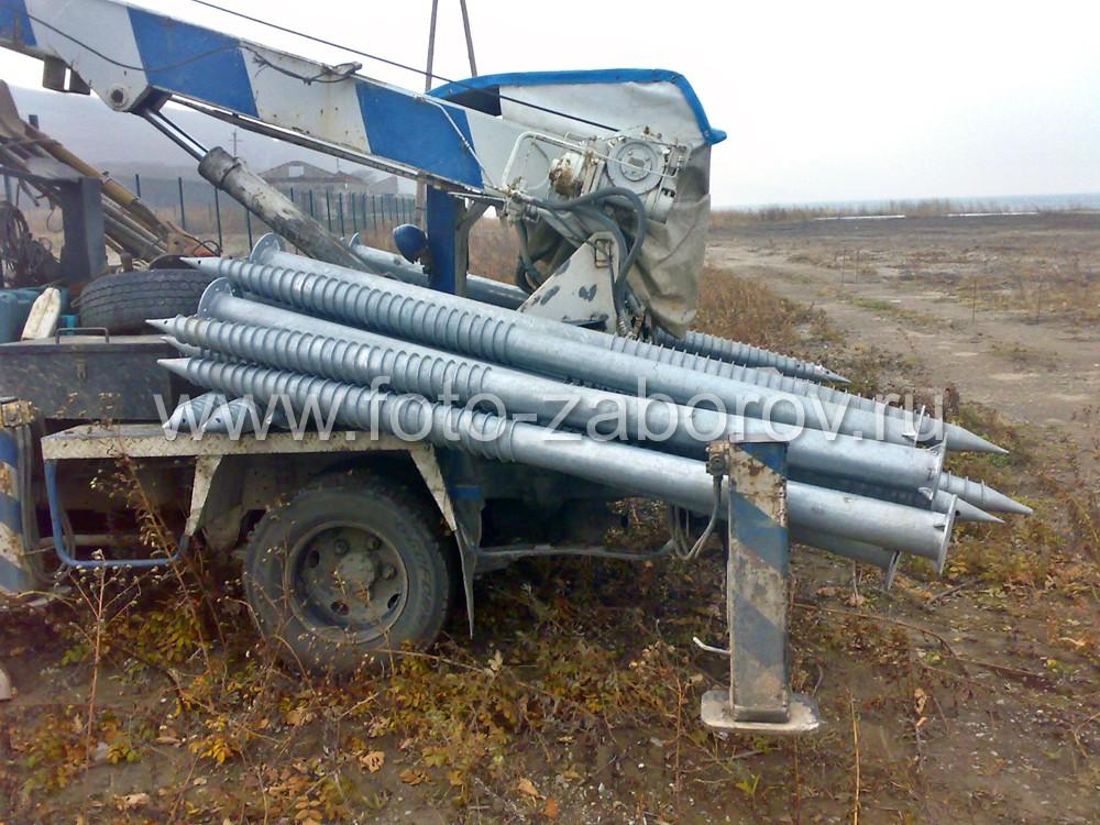 Фото Строительство новой базы отдыха в Приморском крае. Винтовые сваи - надёжный фундамент для