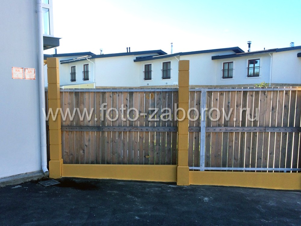 Фото Солнечный забор на улице Солнечной. Университетский