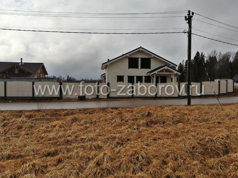 Фото Большой частный дом и качественный забор