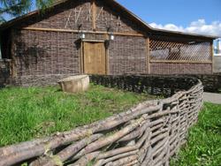 Тын / плетёнка / плетень - простейшие этно-ограды из лозы